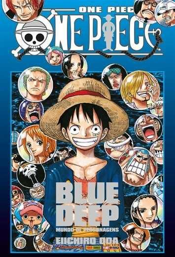 One Piece - Blue Deep : Mundo de Personagens (Item novo e lacrado)