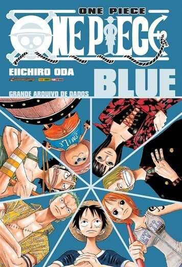 One Piece - Blue : Grande Arquivo de Dados (Item novo e lacrado)