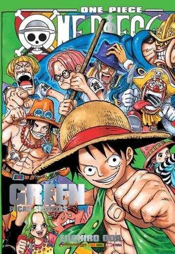 One Piece - Green : Peças Secretas (Item novo e lacrado)