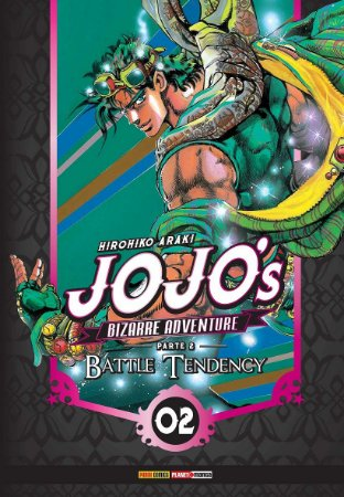 Jojo's Bizarre Adventure - Battle Tendency (Parte 2) - Vol. 02 (Item novo e lacrado)