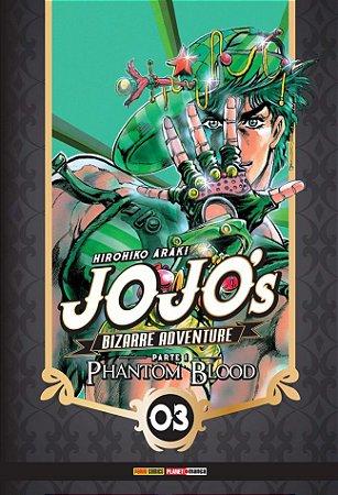 Jojo's Bizarre Adventure - Phantom Blood (Parte 1) - Vol. 03 (Item novo e lacrado)