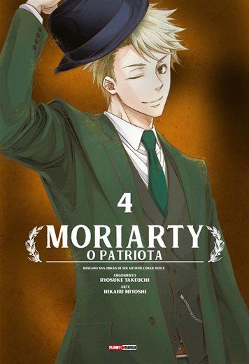 Moriarty O Patriota - Volume 04 (Item novo e lacrado)
