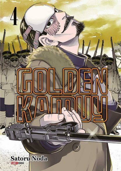 Golden Kamuy - Volume 04 (Item novo e lacrado)