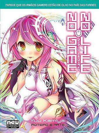 No Game No Life - Livro 02 (Item novo e lacrado)