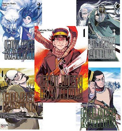 Golden Kamuy - Volumes 01 ao 05 (Itens novos e lacrados)