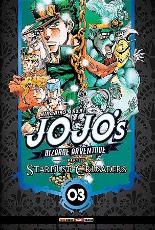 Jojo's Bizarre Adventure - Stardust Crusaders (Parte 3) - Vol. 03 (Item novo e lacrado)