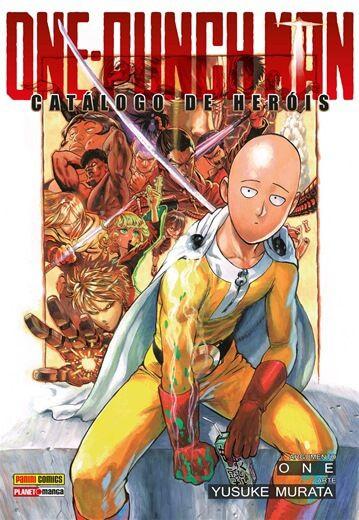 One-Punch Man - Catálogo de Heróis (Item novo e lacrado)