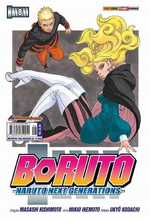 Boruto (Naruto Next Generations) - Volume 08 (Item novo e lacrado)