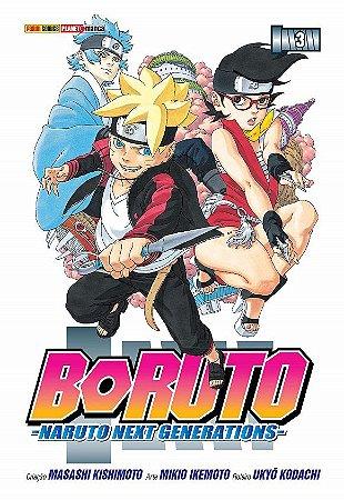 Boruto (Naruto Next Generations) - Volume 03 (Item novo e lacrado)