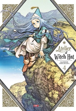Atelier of Witch Hat - Volume 04 (Item novo e lacrado)