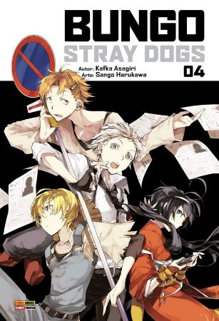 Bungo Stray Dogs - Volume 04 (Item novo e lacrado)