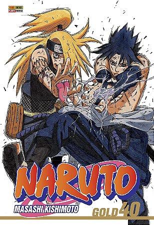 Naruto Gold - Volume 40 (Item novo e lacrado)