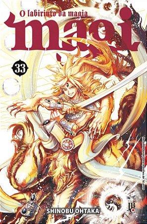 Magi : O labirinto da magia - Volume 33 (Item novo e lacrado)