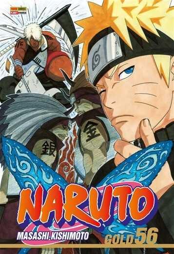 Naruto Gold - Volume 56 (Item novo e lacrado)