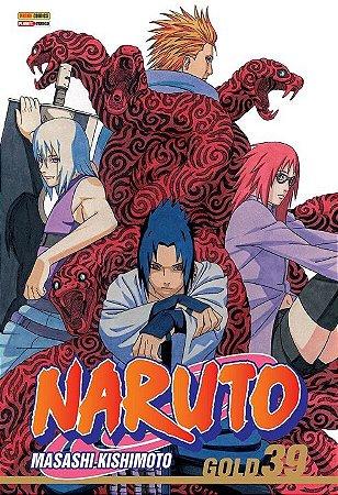 Naruto Gold - Volume 39 (Item novo e lacrado)