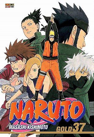 Naruto Gold - Volume 37 (Item novo e lacrado)