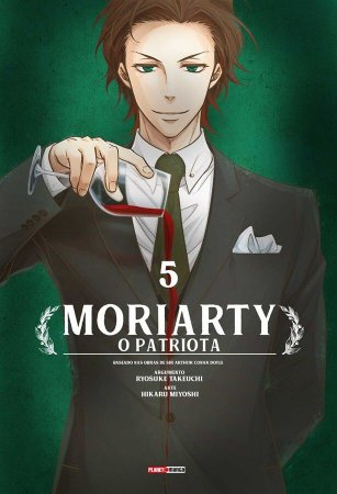 Moriarty O Patriota - Volume 05 (Item novo e lacrado)