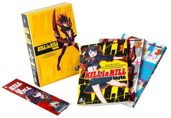 Kill la Kill - Box - Volumes 01, 02 e 03 (Item novo e lacrado)