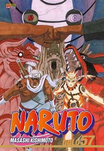 Naruto Gold - Volume 57 (Item novo e lacrado)