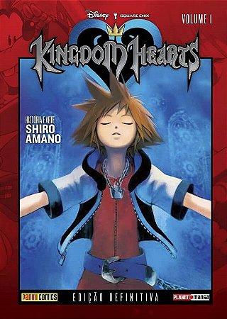 Kingdom Hearts - Edição Definitiva - Volume 01 (Item novo e lacrado)