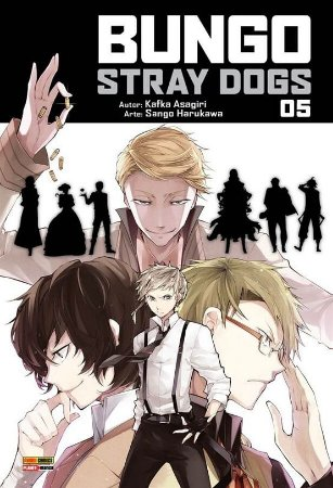 Bungo Stray Dogs - Volume 05 (Item novo e lacrado)