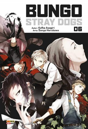 Bungo Stray Dogs - Volume 06 (Item novo e lacrado)