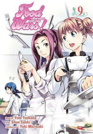 Food Wars ! - Volume 09 (Item novo e lacrado)