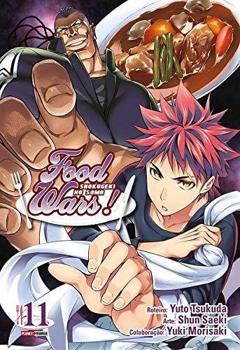 Food Wars ! - Volume 11 (Item novo e lacrado)