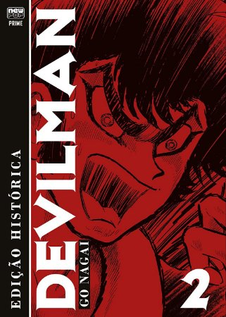 Devilman (Edição Histórica) - Selo Prime - Volume 2 (Item novo e lacrado)