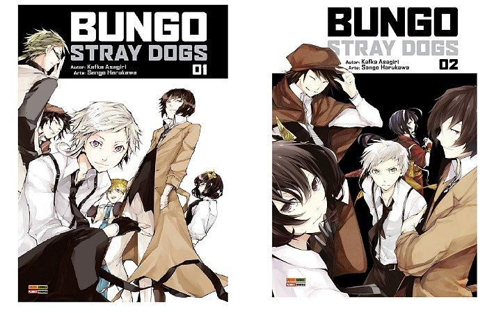 Bungo Stray Dogs - Volumes 01 e 02 (Itens novos e lacrados)