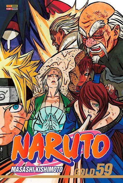 Naruto Gold - Volume 59 (Item novo e lacrado)