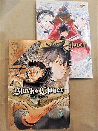 Black Clover - Volumes 01 e 02 (Itens usados e reembalados)