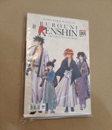 Rurouni Kenshin - Crônicas da Era Meiji - Volume 10 (Item usado e reembalado)