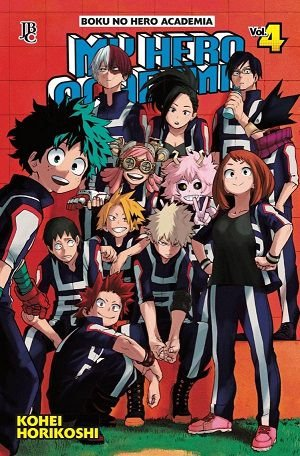 My Hero Academia - Volume 04 (Item novo e lacrado)