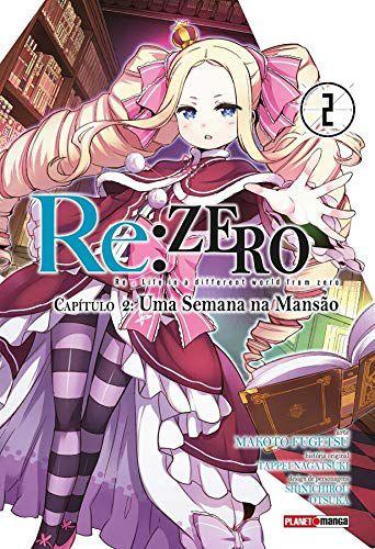 Re:Zero - Capítulo 02 : Uma Semana Na Mansão - Volume 02 (Item novo e lacrado)