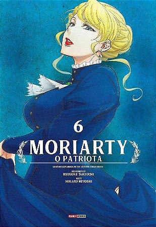 Moriarty : O Patriota - Volume 06 (Item novo e lacrado)