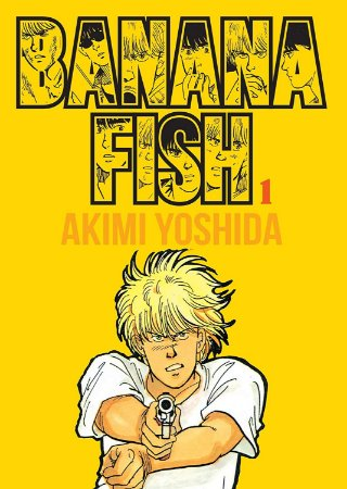 Banana Fish - Volume 01 (Item novo e lacrado)