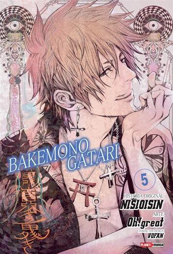 Bakemonogatari - Volume 05 (Item novo e lacrado)
