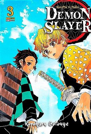 Demon Slayer : Kimetsu No Yaiba - Volume 03 (Item novo e lacrado)