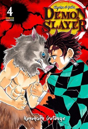Demon Slayer : Kimetsu No Yaiba - Volume 04 (Item novo e lacrado)