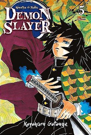 Demon Slayer : Kimetsu No Yaiba - Volume 05 (Item novo e lacrado)