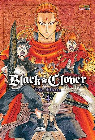 Black Clover - Volume 04 (Item novo e lacrado)