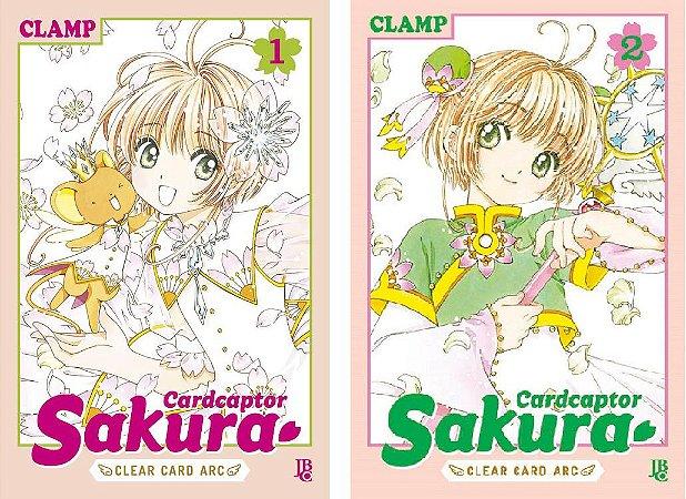 Cardcaptor Sakura : Clear Card - Volumes 01 e 02 (Itens novos e lacrados)