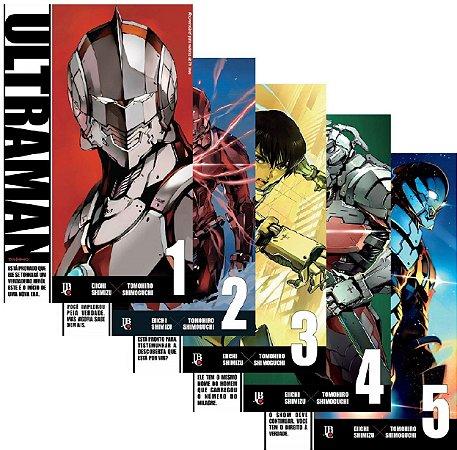 Ultraman - Volumes 01 ao 05 (Itens novos e lacrados)
