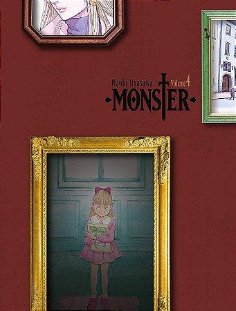 Monster - Kanzenban -  Volume 04 (Item novo e lacrado)