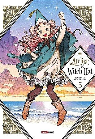 Atelier of Witch Hat - Volume 05 (Item novo e lacrado)