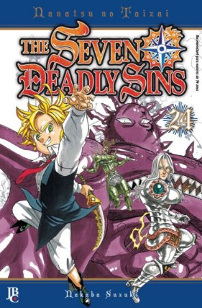 The Seven Deadly Sins - Volume 24 (Item novo e lacrado)