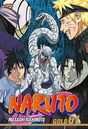 Naruto Gold - Volume 61 (Item novo e lacrado)