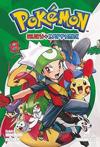 Pokémon Ruby & Sapphire - Volume 08 (Item novo e lacrado)
