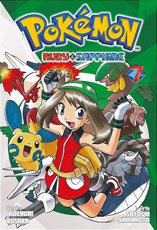 Pokémon Ruby & Sapphire - Volume 07 (Item novo e lacrado)